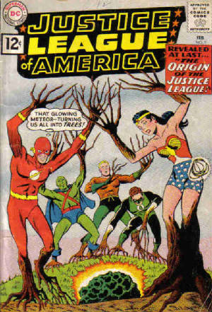 Origin of the Justice League of America