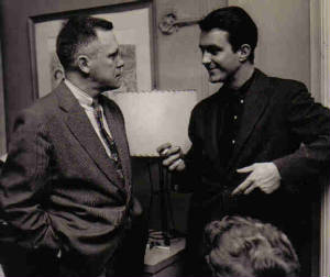 Cliff Robertson and Lawrence Quirk
